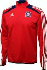 New Authentic Adidas MLS Chicago Fire Training Jersey Sz XL $120