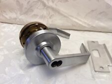 """Grade 2 Commercial Office Entry Lever Lockset 2 3/4"""" Maxtech Lock US26D ICCORE"""