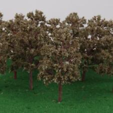 20pcs Model Trees Train Railway Diorama Scenery Landscape N 1:150 Gray Green