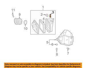 GM OEM Air Cleaner Intake-Air Cleaner Nut 12482034