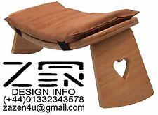 MEDITATION STOOL with a Fitted Cushion (rocker)