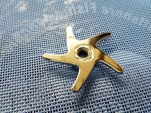 1 Penn 955 & 965 Star Drag Wheel # 10-965 Fits Either Reel (CHROME COLOR)