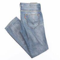 LEVI'S 511 Slim Straight Fit Men's Blue Jeans W33 L31