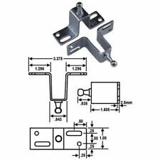 JR Products Gas Spring Mounting Bracket  BR-12695 RV PARTS Direct 2U