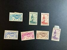 french morocco airmail stamps scott c20-c26 cc174