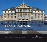 KMS Luxemburg 2017 BU : ESCH-SUR-ALZETTE (5,88 euro) Blister : Lieferbar