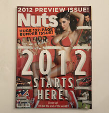 NUTS MAGAZINE | JANUARY 2012 | LUCY PINDER | NEW BABES | RARE ISSUE