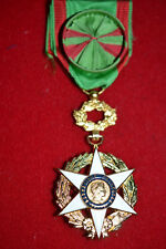 6.6) Superbe médaille officier du mérite agricole moderne FRENCH MEDAL