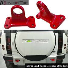 2pcs Tow Hook Red Rear Trailer Hook Fits For Land Rover Defender 2020 2021 2D 4D