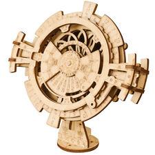 Wooden Blocks Model Building Set Toy Mechanical Gear Construction Set for Adults