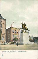 BROOKLYN NY – Grant Monument Tuck Postcard - udb (pre 1908)