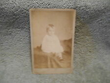 CABINET PHOTO - LITTLE BOY IN WHITE BY PARK AND LEE ELYRIA, OHIO