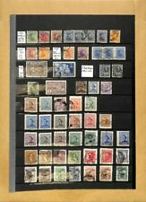 [OP3860] Latin America lot of stamps on 12 pages