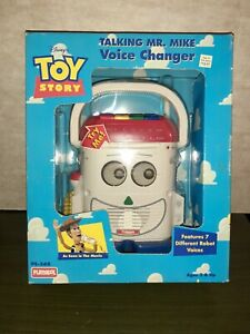 Vintage 1996 Toy Story 1 Talking Mr Mike Voice Changer Playskool Factory sealed