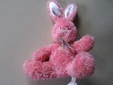 "7"" plush pink Bunny Rabbit doll, good condition"