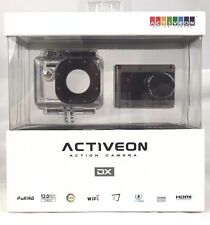Activeon DX Action Cam WiFi Waterproof Full HD Pro 12MP Built-In LCD -MSRP $300