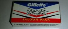 100x GILLETTE WILKINSON SWORD RAZOR BLADES double edge safety razor blade