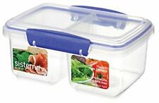 Sistema KLIP IT Rectangular Collection Split Food Storage Container Medium 33...