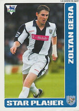 N°449 GERA # HUNGARY WEST BROMWICH ALBION STICKER MERLIN PREMIER LEAGUE 2006