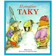 El Pinguino Taky by Helen Lester (2001, Paperback)