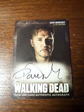 Walking Dead Season 3 Part 2 ( A23) David Morrissey as The Governor Auto Card