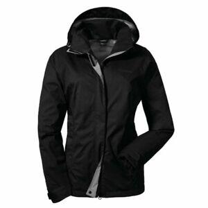 Schöffel Damen Jacke Easy L3 / black Outdoor Sport Mode Freizeit GR. 44 neu