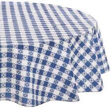 Checked U0026 Gingham Round Tablecloths | EBay
