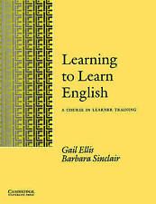 Learning to Learn English Learner's book: A Course in Learner Training-ExLibrary