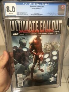 Ultimate fallout 4 CGC 8.0 First Appearance of Miles Morales
