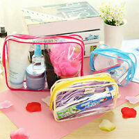 Clear Cosmetic Bag Bathroom Toiletry Clear Wash Bag Organizer Waterproof Case