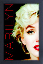 MARILYN MONROE DECO FILTER 13x19 FRAMED GELCOAT POSTER ICONIC MODEL BEAUTY ART!!