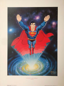 Man of Steel: Legacy of Krypton Superman LE Litho 58/2500 Signed by Curt Swan