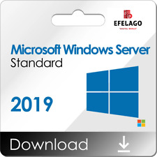 Windows Server 2019 Standart I Produktschlüssel-Key 1 Pc I 32&64 Bit I Rechnung