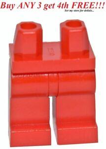 ☀️NEW Lego Legs Pants MINIFIGURE MINIFIG BOY GIRL Star Wars Plain RED
