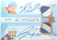 ROOKIE NUGENT HOPKINS LANDESKOG SIGNATURE PATCHES AUTO 2011 11 12 THE CUP /35