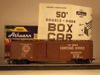 Athearn HO 50' Double Door Automobile-Furniture Box Car, Seaboard #22450