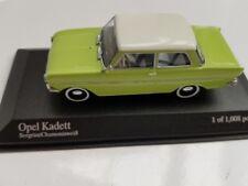 1/43 Minichamps Opel Kadett A 1962 grün weiß 430 043009