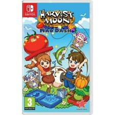 Harvest Moon - Mad Dash For Nintendo Switch (New & Sealed)