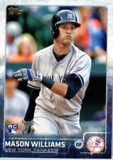 2015 Topps Update Baseball #US83 Mason Williams RC New York Yankees