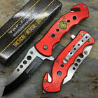 7.75%22+TAC+FORCE+RED+FIRE+FIGHTER+RESCUE+SPRING+ASSISTED+FOLDING+POCKET+KNIFE