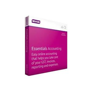 Myob Essentials Accounting With Payroll 3 Months Test Drive