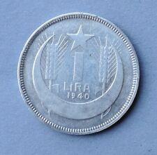Silber MünzeTürkei - 1 Lira - 1940 - Seltenes Jahr