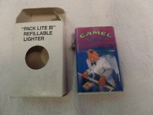 VINTAGE NEW IN BOX JOE CAMEL PLAYING PIANO CAMEL LIGHTS CIGARETTE LIGHTER