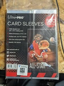 Ultra Pro 500 Standard Trading Card Penny Sleeves Stores 2000 cards pokemon mtg