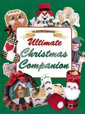 Ultimate Christmas Companion, 80+ Christmas Projects plastic canvas pattern book
