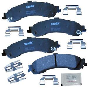 Disc Brake Pad Set fits 2000-2006 GMC Yukon Yukon,Yukon XL 1500 Sierra 1500  BEN