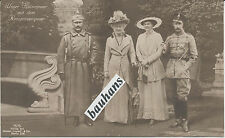 AK  Unser Kaiserpaar mit dem Kronprinsenpaar (1902)