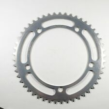 "Sugino Mighty Competition 144 mm BCD 49T Chainring 3/32"" NOS"