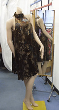 Joseph Ribkoff BNWT 10 Stunning Metallic Halterneck Cloche Style Evening Dress