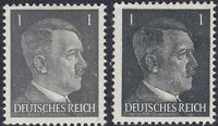 Stamp Germany Mi 781a 781b Sc 506 1941 WW2 3rd Reich War Hitler BOTH TYPES MNH